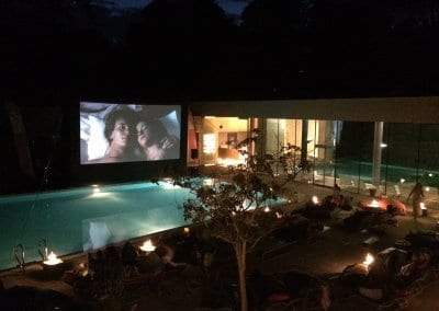Poolside Cinema - Cowley Manor C-Side Spa