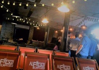 Pop-Up Cinema - Gloucester Brewery