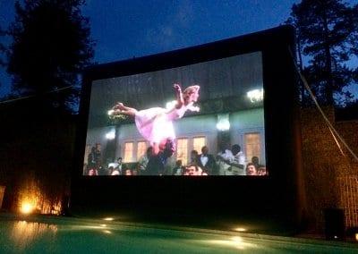 Poolside Cinema - Cowley Manor does Dirty Dancing