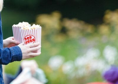 Popcorn direct to your seat!