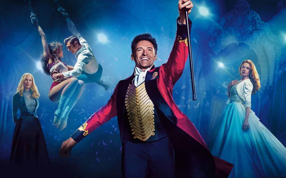 Useful Info: The Greatest Showman (PG) at Over Farm