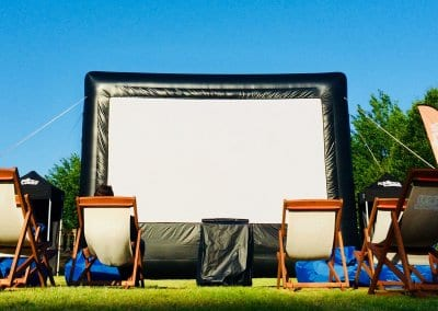 Outdoor Large Event Screen - Wiltshire College Chippenham