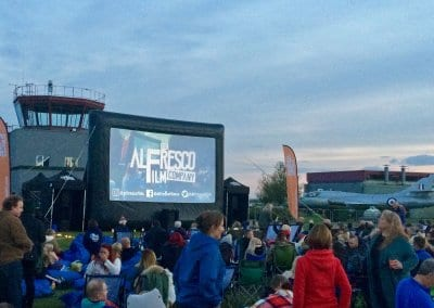 Outdoor Large Event Screen - Cotswold Airport Cirencester
