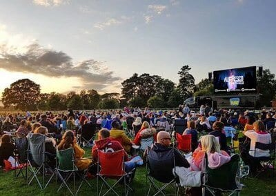 Outdoor LED Screen - Coombe Abbey Park Coventry