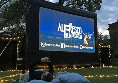Outdoor Large Event Screen - Cowley Manor Cotswolds