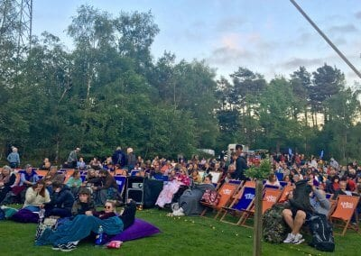 Audience - Haldon Forest Park Exeter