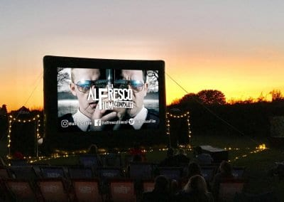 Outdoor Large Event Screen - Over Farm Gloucester