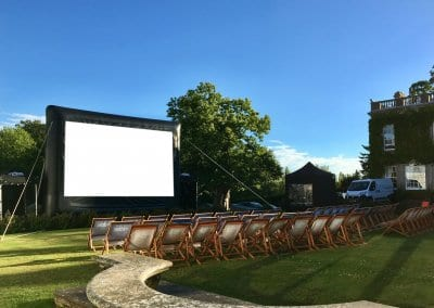 Outdoor Large Event Screen - The Elms Hotel Worcester