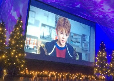 Indoor Event Screen - Christmas in Gloucester