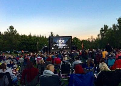 Outdoor Large Event Screen - Beechenhurst Forest of Dean