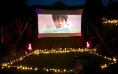 Halloween Outdoor Cinema