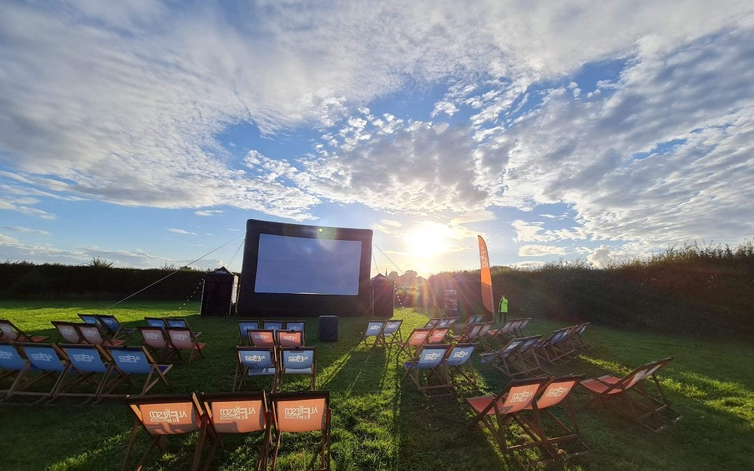 Open Air Cinema at Over Farm